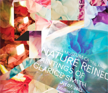 VMFA Banner for Nature Reined exhibit