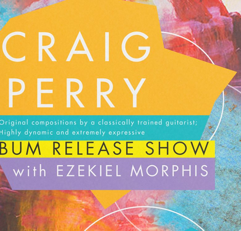 """Album and Poster Designs for Craig Perry's """"HIMSELF"""""""